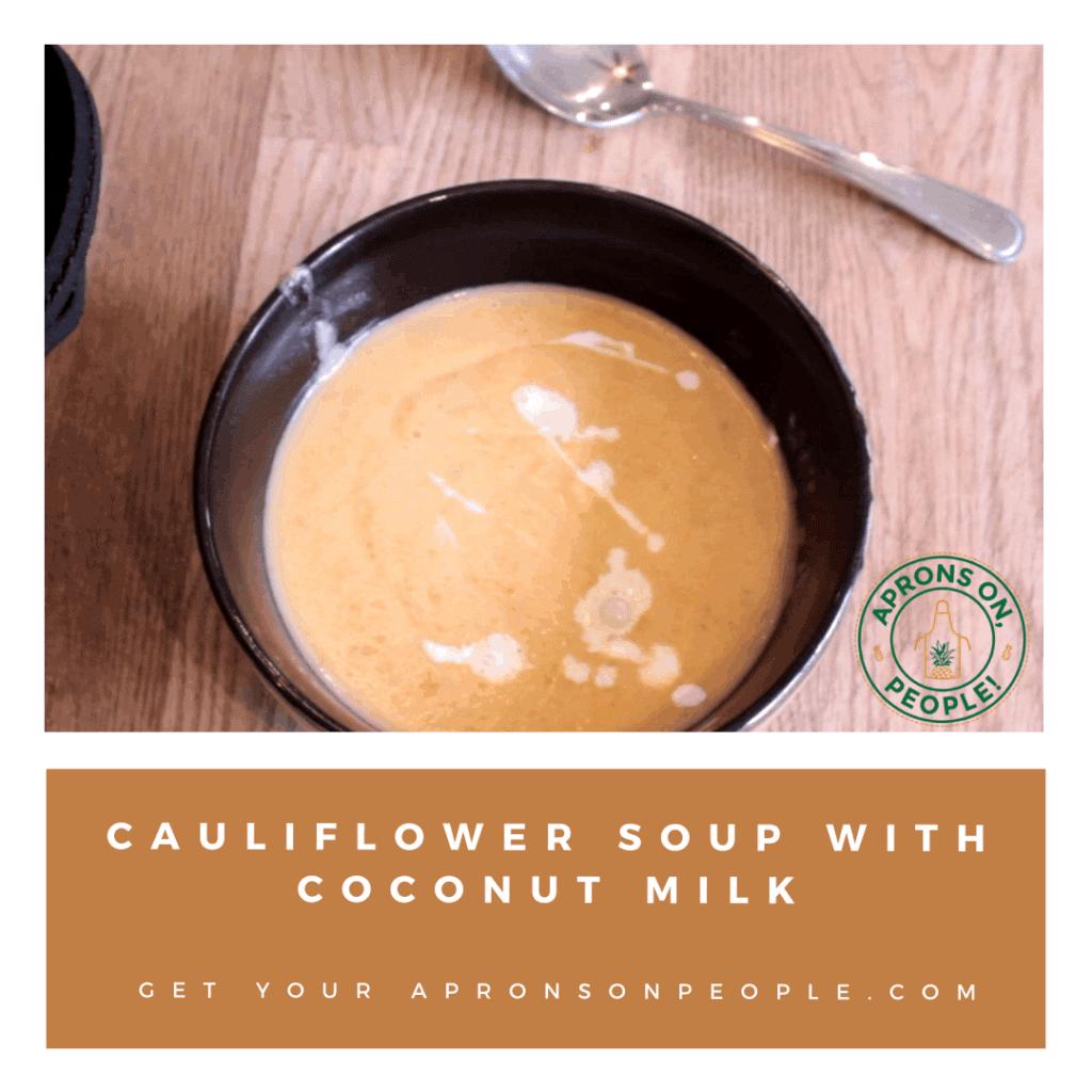 Bowl of Cauliflower Soup